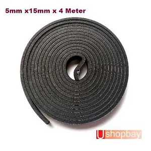 Universal Weather Strip Seal Strip Epdm Tape 4m Trunk Roof