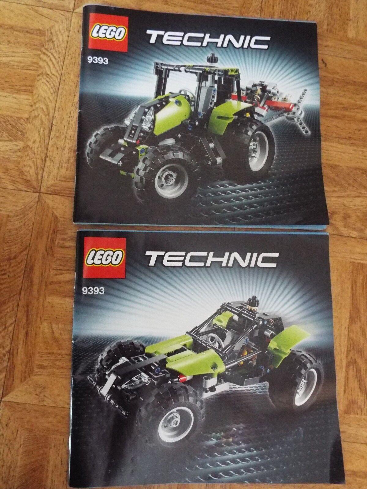 LEGO TECHNIC REF 9393  LE TRACTEUR  - COMPLET ET PARFAIT ETAT