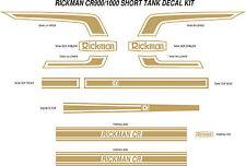RICKMAN CR HONDA CR750 KAWASAKI CR900 CR1000 PREMIUM QUALITY FULL DECAL KIT