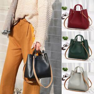 Women-Leather-Messenger-Hobo-Bag-Satchel-Lady-Handbag-Shoulder-Bags-Tote-Purse