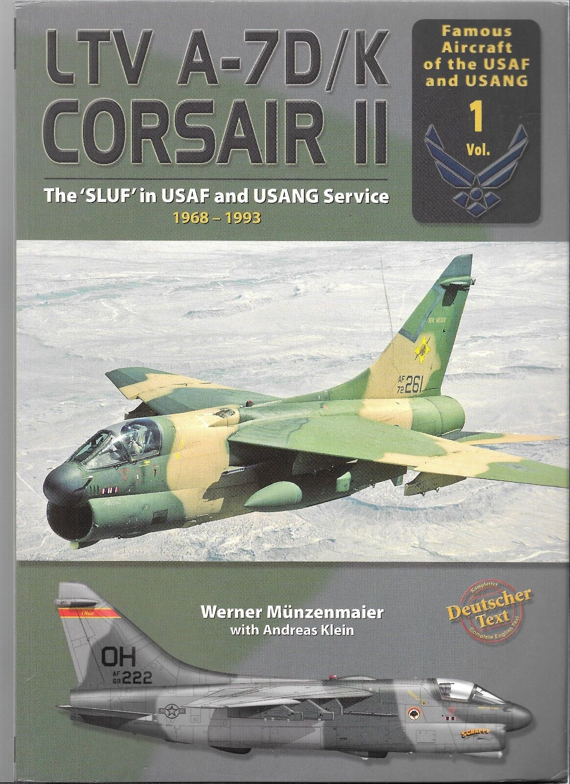 Double Ugly LTV A-7D  K Corsair II Softcover Reference FN