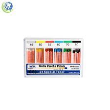 Gutta Percha Points 04 Special Taper 45 80 60box Vial Endodontic Obturation
