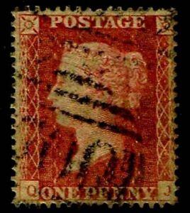 1857-Great-Britain-18-QV-Wmk-20-White-Paper-Used-VF-CV-72-50-ESP-3886