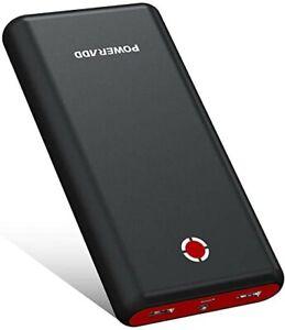 POWERADD Power Bank 20000mAh Cargador Portátil Batería Externa