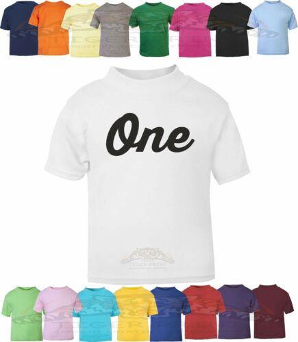 1st Birthday T Shirt One design 7 unisex