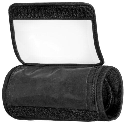 Fanatical Sports Premium Wrist Coach Triple Playbook Wristband Adult-Black