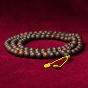 Bodhi Mala Brun Foncé Mantra Rezitation (11-11,5 mm) Népal Bouddhisme P03