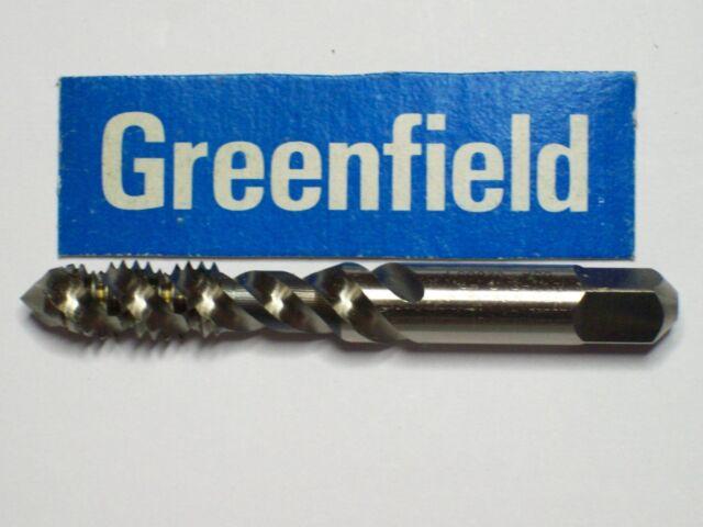 "1 Greenfield Hand Plug Gun Spiral Threading Tap 3 FL,USA! GH7 3//8/"" x 24 NF"