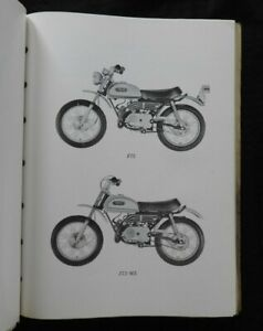 1971 1972 Yamaha 60cc Jt2 Jt2 Mx Enduro Dirt Motorcycle Parts Catalog Manual Ebay