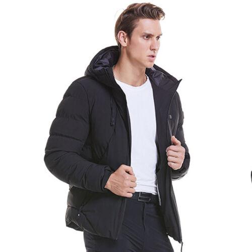Men Electric Coat Vest Heated Cloth Jacket USB Warm Up Heating Pad Body Warmer