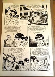 Star-Trek-Robot-Master-Book-amp-Record-set-1979-ORIGINAL-ART-page-5-Kirby-Martin