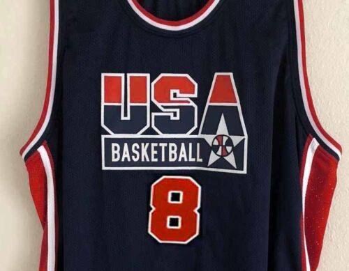 STEVE SMITH  #8 TEAM USA JERSEY AUTHORIZED SEWN NEW ANY SIZE