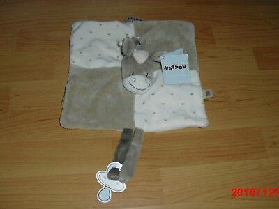 100% Wahr Nattou Schmusetuch Kuscheltuch Esel 28 X 28 Cm Mit Schnullerhalter Neu Kataloge Werden Auf Anfrage Verschickt