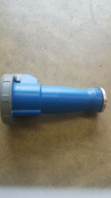Hubbell HBL460C9W Female IEC Pin and Sleeve Connector for sale online
