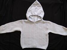 BNWT Eddie Bauer Baby Boys Grey Fleece Hood Jumper 12M//18M//24M
