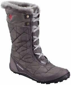Columbia-Minx-Mid-II-Omni-Heat-Womens-Winter-Boots-6-Shale-Gray-Waterproof-5-5