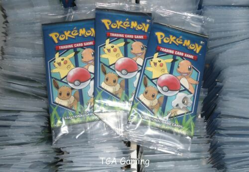 100x SEALED General Mills Pokemon Cereal 3-Card Booster Packs !! NEAR MINT