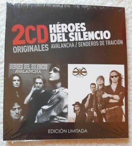 Heroes-del-Silencio-034-Avalancha-Senderos-de-traicion-CD-x2-New-Sealed-digipack