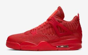 Nike-Air-Jordan-4-IV-Retro-Flyknit-University-Fire-Red-AQ3559-600-October-Mens