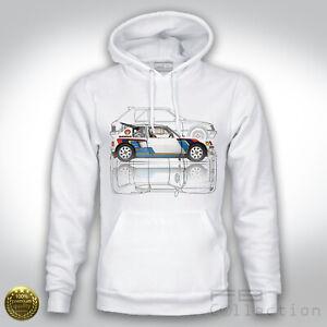 Felpa-Hoodie-Peugeot-205-T16-Turbo-1984-Rally-Gruppo-B-205-GTI-Evo2-WRC-history