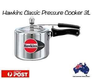 New-Hawkins-Classic-Aluminium-3-Liters-Litres-Pressure-Cooker-Sydney-Free-Ship