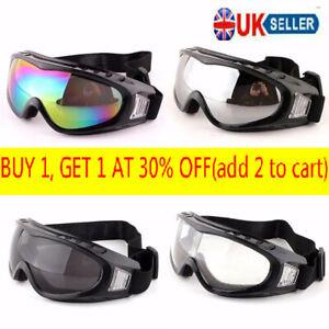 Fashion Anti UV Dust Fog Wind Goggle Outdoor Sports Protective Glasses Eyewear