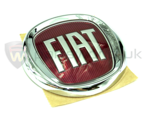Original Genuine Fiat 500 Boot Tailgate Badge Emblem Logo 95mm