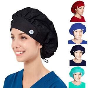Bunt Kochhut Kochbekleidung Bistromütze Pro Kochmütze Bandana Kopfbedeckung A+