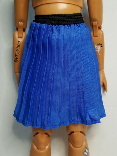 MATTEL BLUE PLEATED SKIRT BARBIE FASHIONISTAS FASHION CLOTHES CLOTHING CURVY NEW