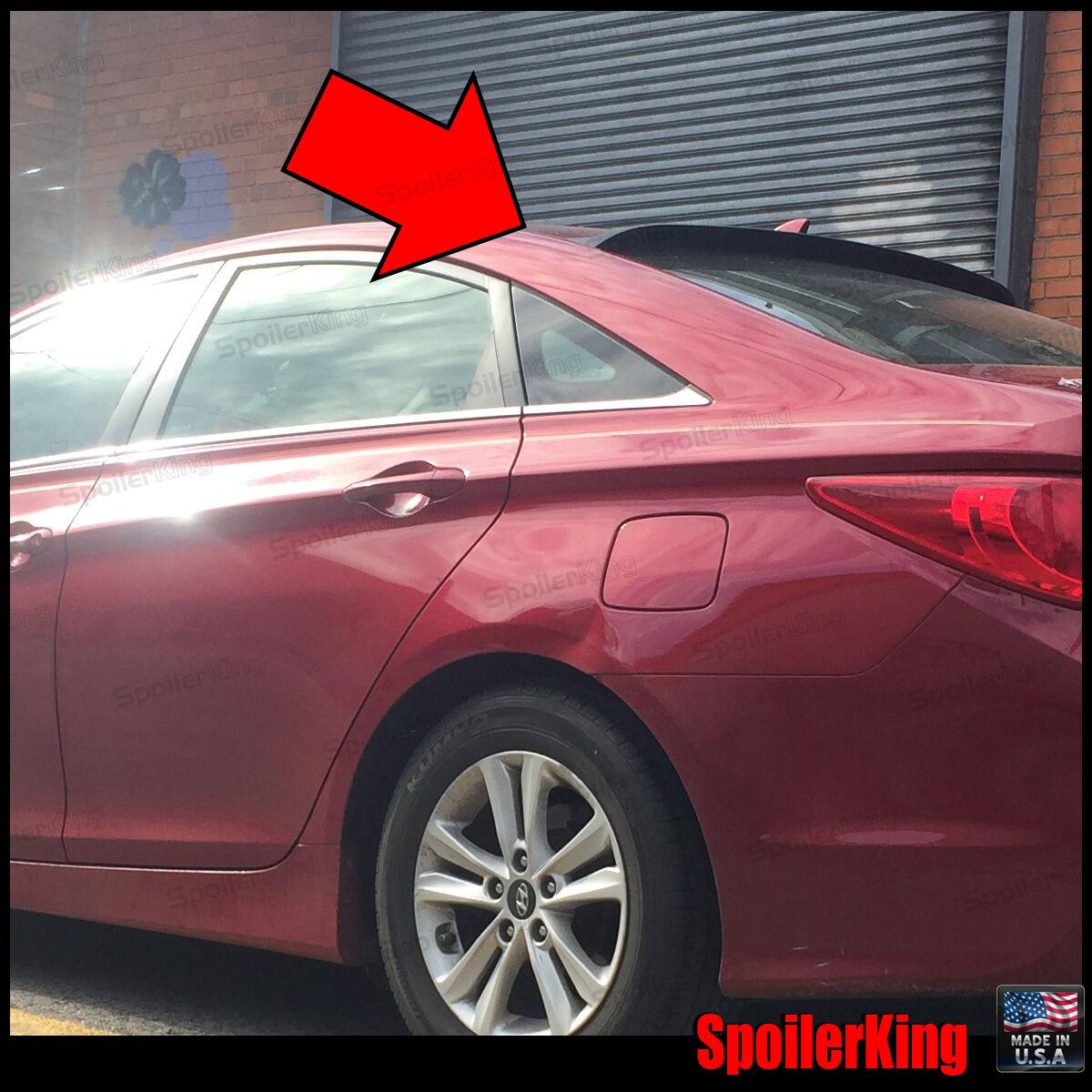 SpoilerKing #380R Rear Window Roof Spoiler Fits: Hyundai Sonata 2011-14