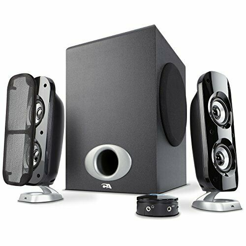 Cyber Acoustics High Power 2.1 Subwoofer Speaker System with