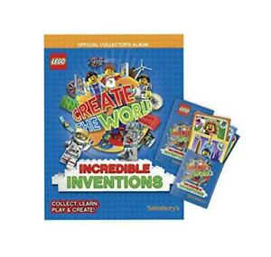LEGO-Create-The-World-Series-2-Incredible-Inventions-Collectors-Album-Book-Ac