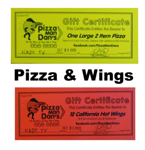 Oxnard-PH-Optimist-Club-auction-for-40-value-for-Pizza-Man-Dan-039-s