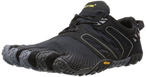 Vibram Uomo V Trail Runner, Nero/Grey,  9.5-10 M   Nero/Grey, / 43 EU b15a27