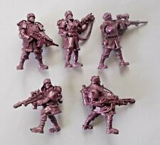 Skeletons set of 6 Tehnolog Fantasy Battles 54mm scale soft plastic soldiers