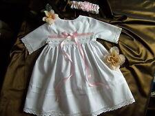 Taufkleid ,  Festlkleid, Blumenmädchen,2-teilig,  Mädchen,weiß, ab Größe 50- 98