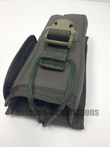 NEW EAGLE INDUSTRIES ALLIED INDUSTRIES RLCS MBITR RADIO POUCH SFLCS RANGER GREEN