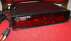 Black-Box-Corporation-COS-4P-Model-SW851-4-Channel-Code-Operated-Switch
