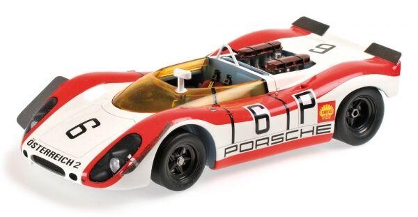 Porsche 908 02 Spyder No.6 1000km Nürburgring 1969 ( Lins - Attwood)