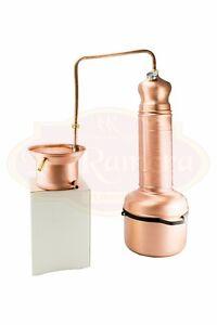 Alambicco Distillatore 5 Litri A Colonna, Adatto A Tutti I Tipi Di Distillazione