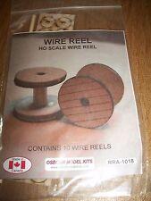 Osborn Model Kits HO Scale Wire Reels 10 pack RRA-1018 Bob The Train Guy