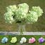 6-Koepfe-1-Bund-kuenstliche-Blumenstrauss-Hortensie-Party-Home-Hochzeit-Dekor Indexbild 1