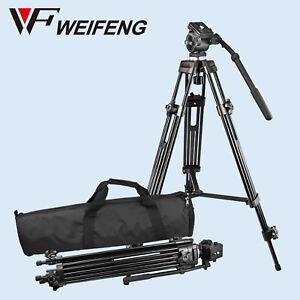 Weifeng-WF-717-Tripod-Fluid-Video-Head-1-4-3-8-Heavy-Duty-for-DSLR-Camcorder