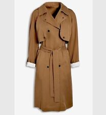 BNWT🌹Next🌹Size 20 NEUTRAL / BROWN TRENCH COAT £ 80 Reduced!!! New XL