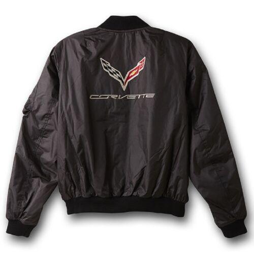 C7 Corvette Black Aviator Jacket