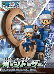 Bandai-one-piece-Kit-Chopper-Robo-Super-3-Horn-Dozer-Model-Kit-New-Boxed