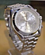 Fashion Geneva Luxury Style Quartz  Women Sport Wrist Watch MK Style