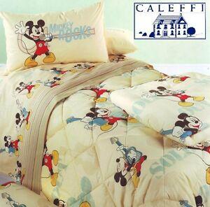 Piumone 1 Piazza E Mezza Disney.Dettagli Su Trapunta Invernale Disney Caleffi Mickey Star Singolo E 1 Piazza E Mezza