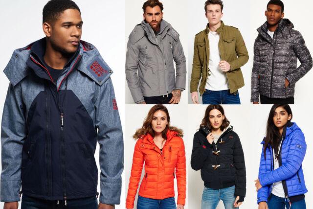 Neue Superdry für Männer und Frauen Jacken Versch. Modelle und Farben 1610 2