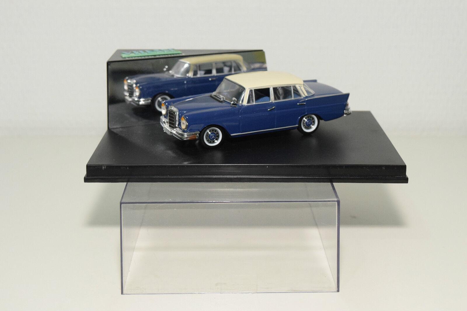 .vitesse 047b 047 b mercedes - benz 220se blaue 220 se 1959 blaue 220se mint umzingelt 9807b9